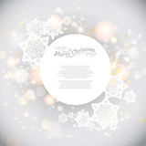 Shining holiday background