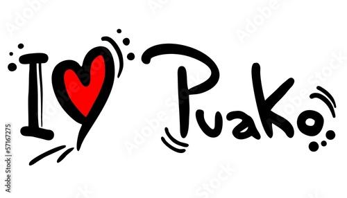 Puako love