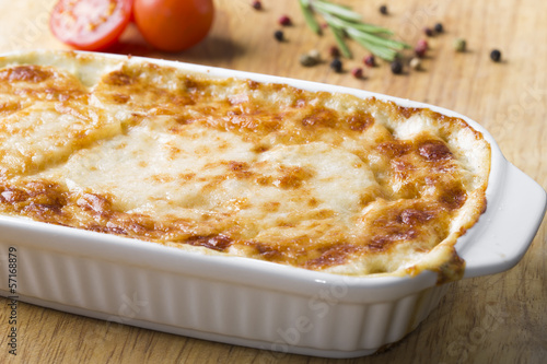 potato casserole with cheese