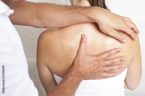 Wirbelsäulemassage