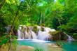 Waterfall in Kanjanaburi Thailand