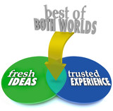 Best of Both Worlds Fresh Ideas Trusted Experience