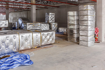 Fiberglass for new factory construction