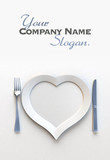Romantic place setting customizable
