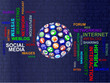 Social Media Digit Concept Sphere