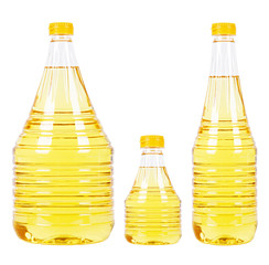 Pet bottles with oil
