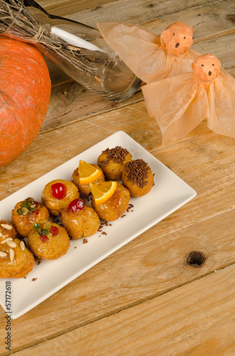 Spanish Halloween biscuits