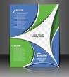 Vector Back Call Center Flyer Magazine Cover