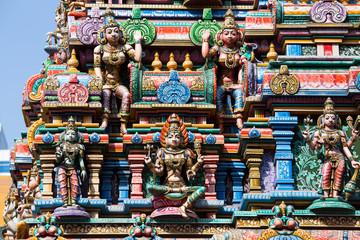 Hindu Temple in Bangkok, Thailand.