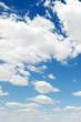 Fototapete Blau - Blue sky - Tag