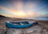 Fototapety Fishing Boat at Sunrise