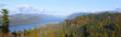 Columbia River Gorge panorama Oregon.