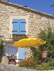 Provence, cottage in the sun. France