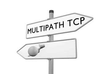 Multipath TCP Konzept Geschwindigkeit