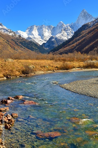 Autumn in Caucasus