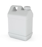 jerrycan isolated on a white background