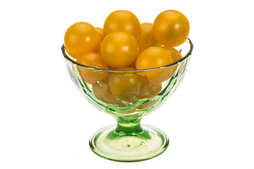 Yellow bright tomato