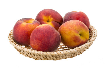 Bright ripe peaches