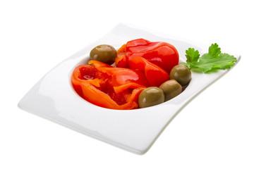 Marinated pepper