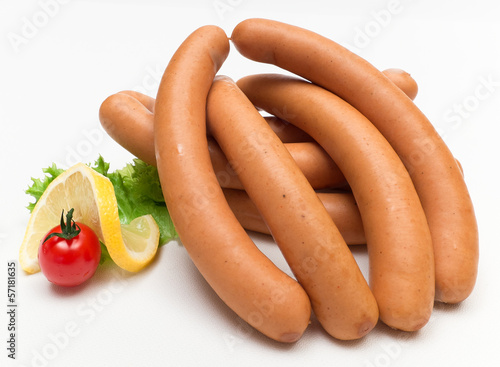 Bockwurst-Arrangement