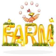 fattoria pollo giocoliere