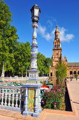 Monumental Plaza de España, Sevilla, España