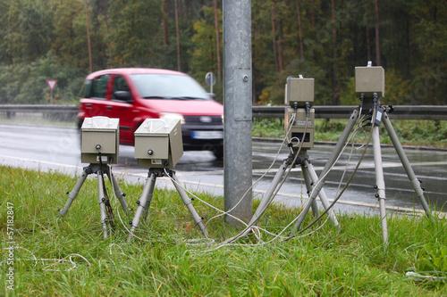 Blitzer Radarkontrolle