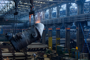 Iron and steel plant,workshop,Panorama