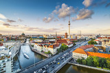 Fototapety Berlin, Germany Afternoon Cityscape
