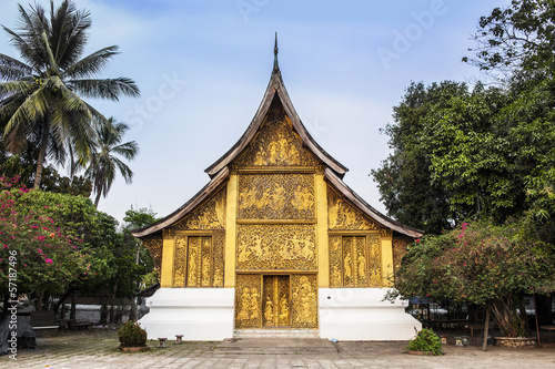 Wat Xieng Thong,Landmark of Luang Prabang,Laos. UNESCO Site