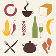 Food. Icon Set