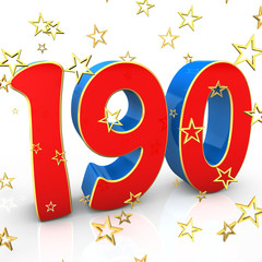190 Years Old - Happy Birthday