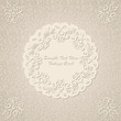 Luxury vintage card in pastel colors. Stylish design