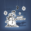 Paper Christmas - Christmas Vector
