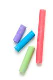 Fototapety colorful chalks