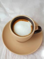 Coffee espresso macchiato