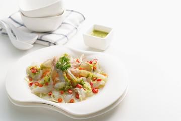 Spicy shrimp salad 1