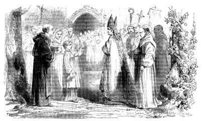 Christian Scene : Bishop - 18th century
