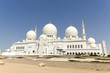 Sheikh Zayed Mosque in Middle East United Arab Emirates