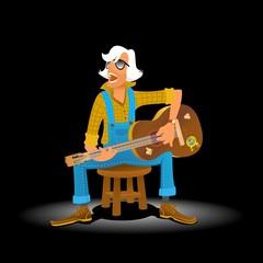 Classical Guitar Singer