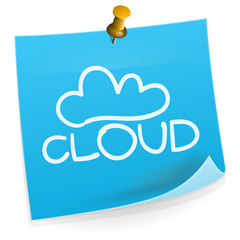 Cloud Technology Sticky Note