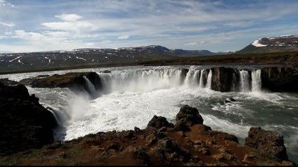 Iceland waterfall - Godafoss