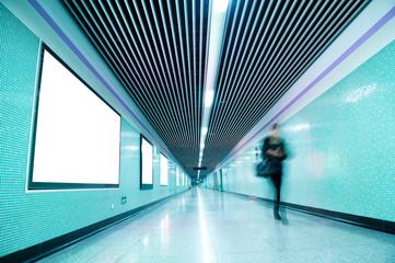 underground passage.