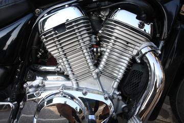 particolare di moto