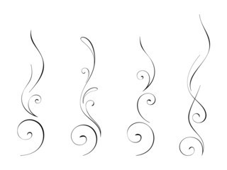 Abstract swirly decorations 4
