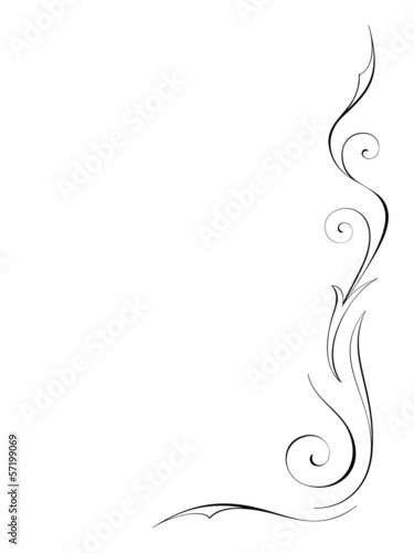 Abstract swirly decoration 3