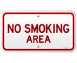 No Smoking Area Notice