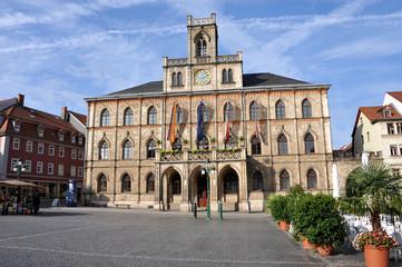 Weimarer Rathaus, Marktplatz, Bürgermeister, Thüringen, Weimar