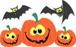 halloween pumpkins cartoon