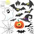 halloween clip art vector